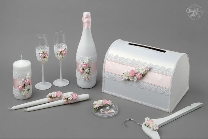 Коллекция аксессуаров ''Розовая нежность''
