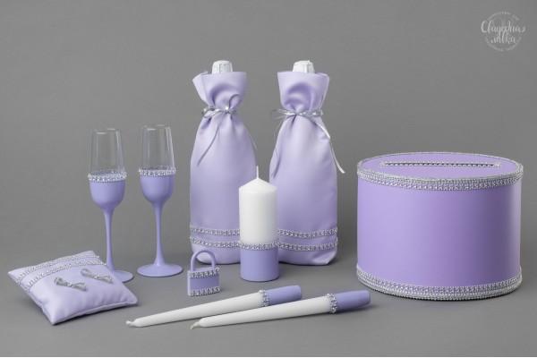 Коллекция аксессуаров ''Серебро и фиолет''