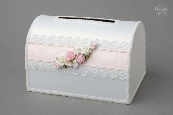 """Сундук для конвертов """"Розовая нежность"""""""