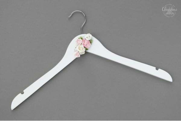Вешалка для платья Невесты ''Розовая нежность''