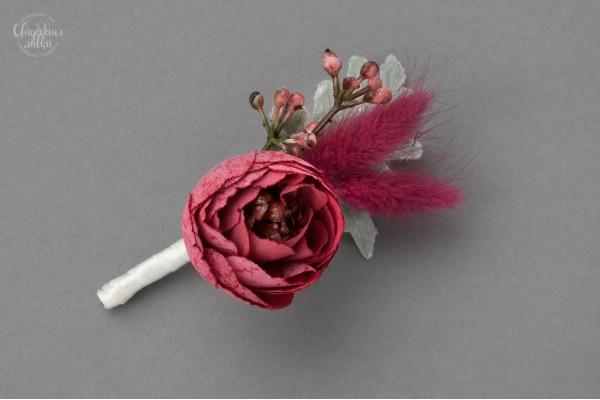 """Свадебная Бутоньерка """"Нежность Цветов"""""""