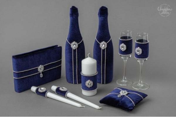 Коллекция аксессуаров ''Королевский синий''