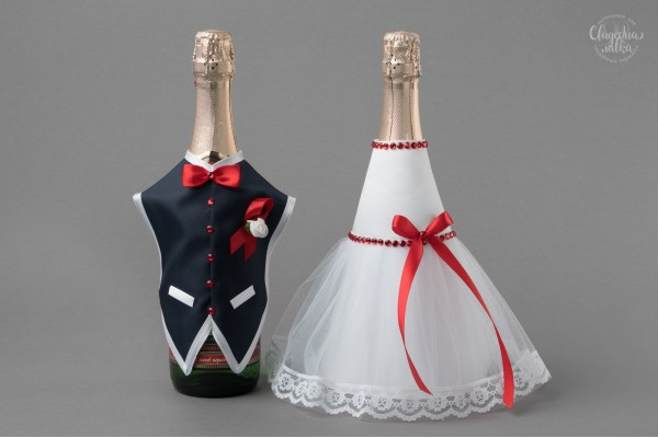 """Одежда на Шампанское """"Рубин"""""""