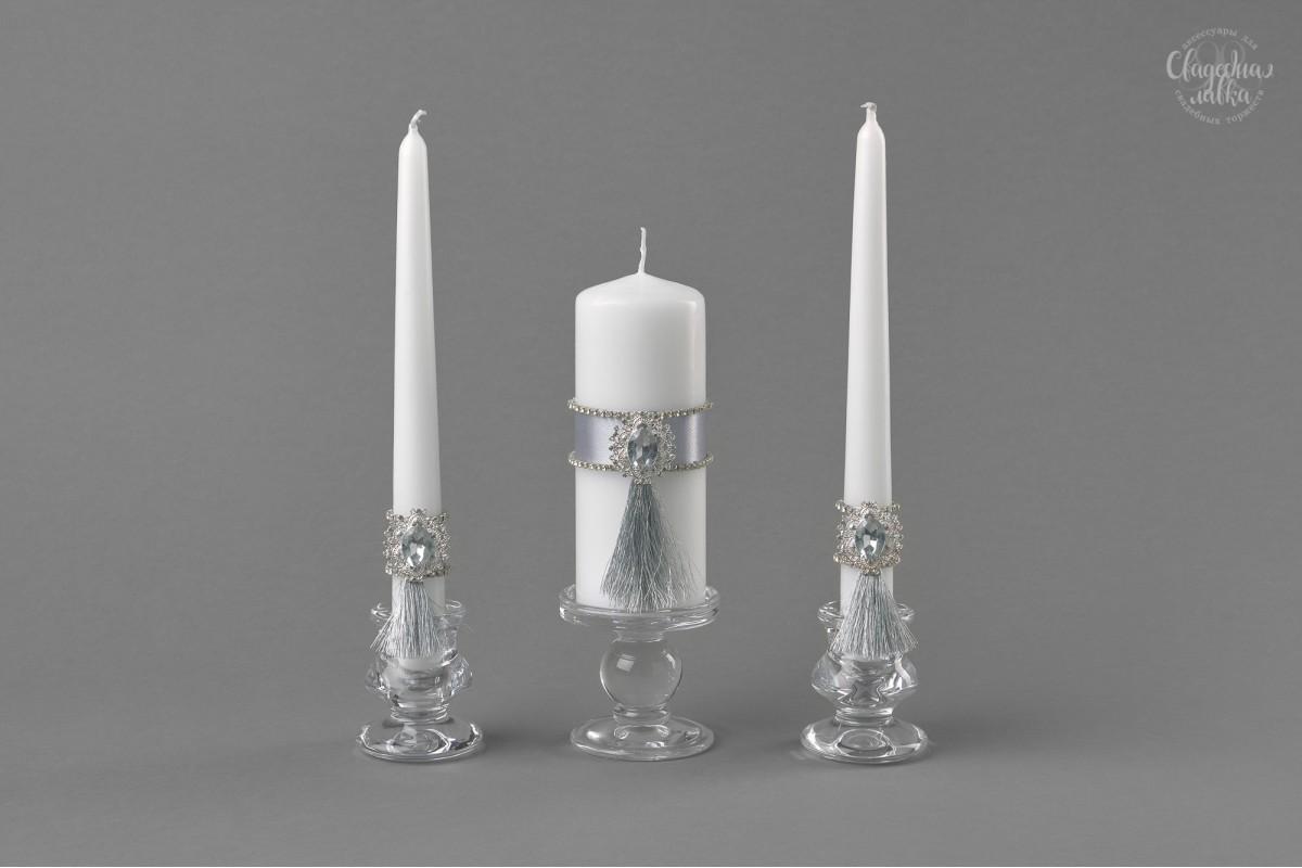 """Свадебные свечи """"Кисти"""""""