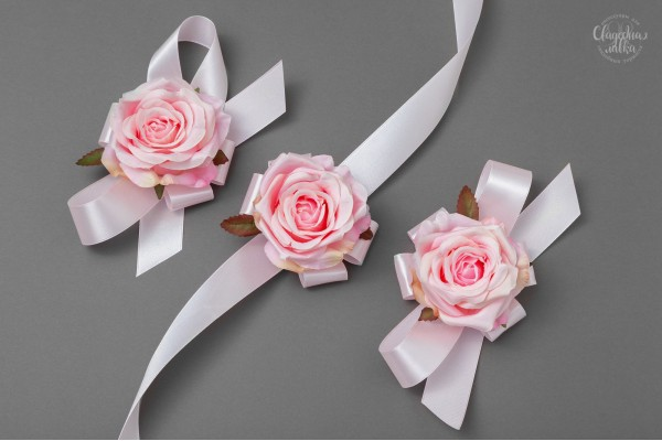 """Браслет подружке Невесты """"Rose pink"""""""