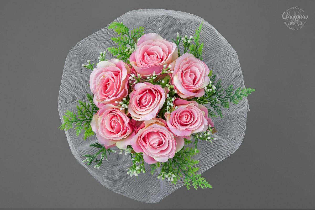 Букет-дублёр из Розовых Роз