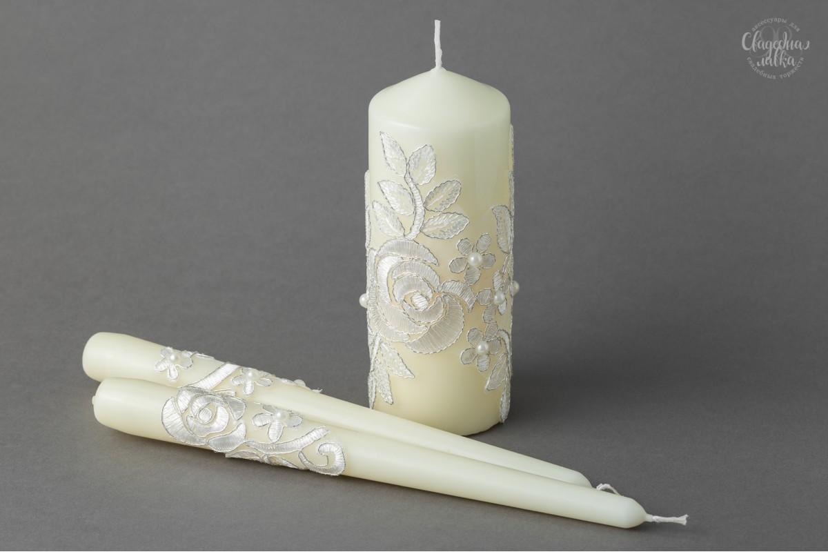 """Свадебные свечи """"Грация"""""""