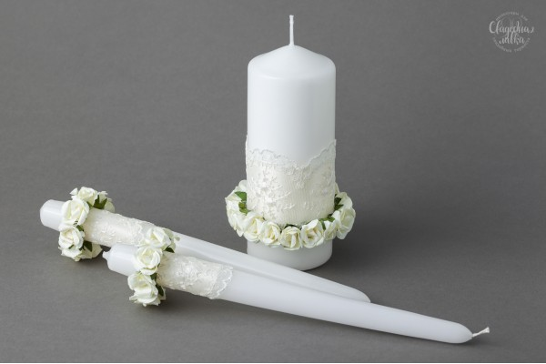 """Свадебные свечи """"Лукреция"""""""